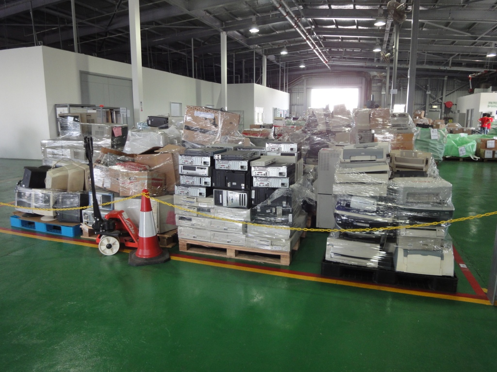 Where Some Of Hong Kong S Old Computers Go To Die